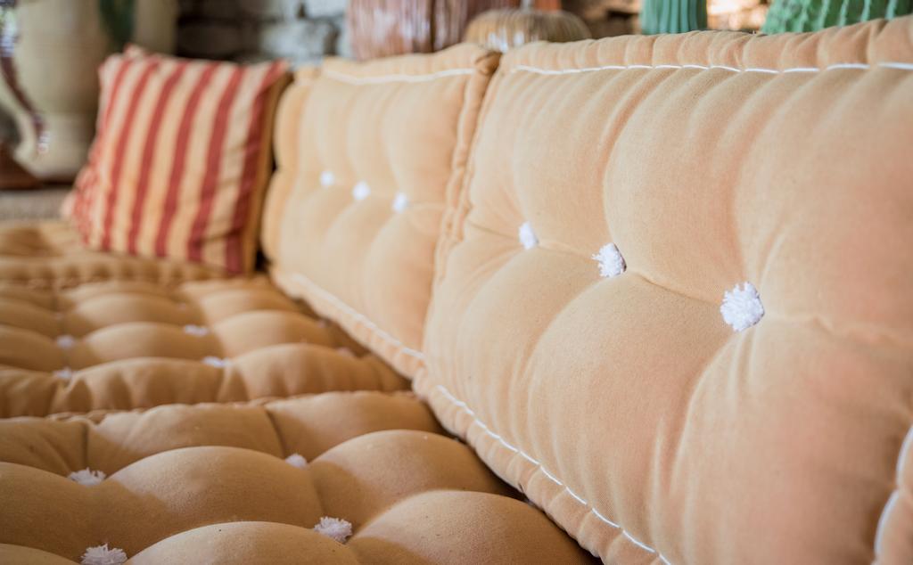 Confection d'un salon d'été façon matelas tapissier 100% laine