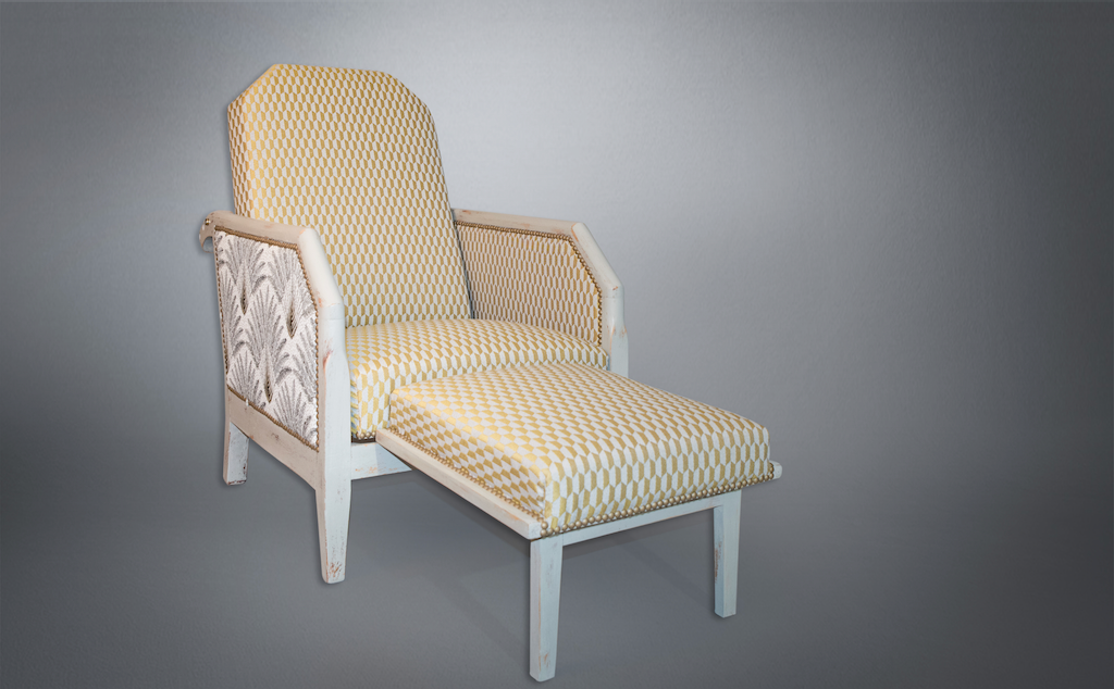 Aurélie Legrand Tapissière artisan Apt fauteuil morris
