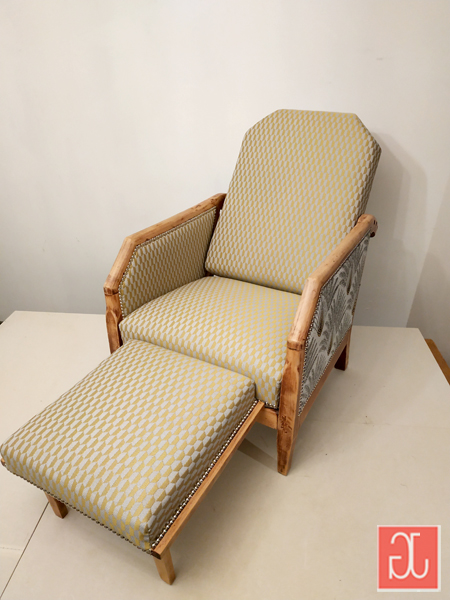Fauteuil relax au dossier inclinable 3 positions