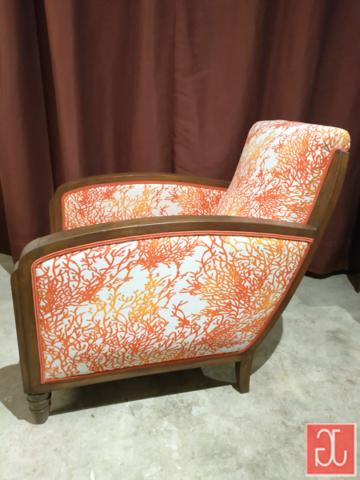 Finition double-passepoil - Aurélie Legrand tapissière