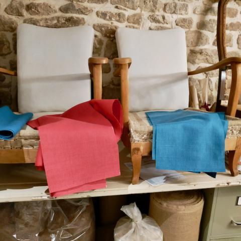 Garnissage traditionnel cuvette en crin sur ressorts - Aurélie Legrand tapissière